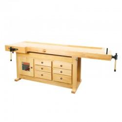 Strugnica, stół stolarski Holzmann WB 210C z szufladą i zaciskiem