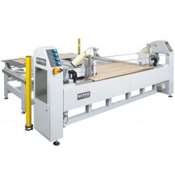 KUPER EVB 3200 maszyna do wzmacniania i wyrównywania krawędzi spajanych fornirów