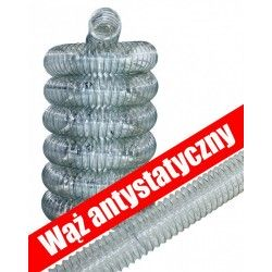 Wąż antystatyczny ssący 50mm / 60mm / 80mm / 100mm / 120mm / 125mm / 140mm / 150mm / 160mm / 180mm